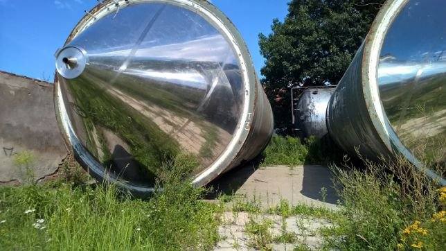 180.000l stainless steel tank